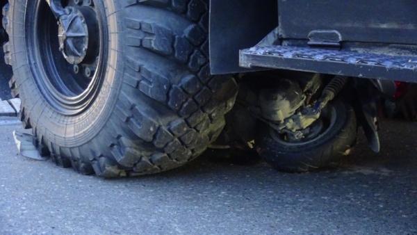 авария, скутер, пожарная машина, ДТП|Фото:ГУ МВД России по СО