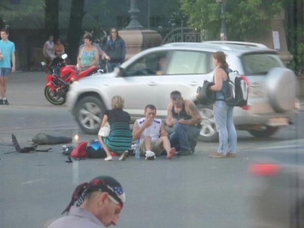 авария, скутер, пожарная машина, ДТП|Фото:http://vk.com/te_ekb