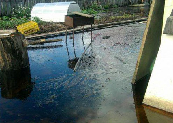 Разлив нефти в Нефтеюганске Фото: Новосибирская служба эвакуации АСТ-54 2995757