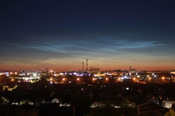 Барнаул, необычное явление, северное сияние|Фото: Фотограф Алексей Близких