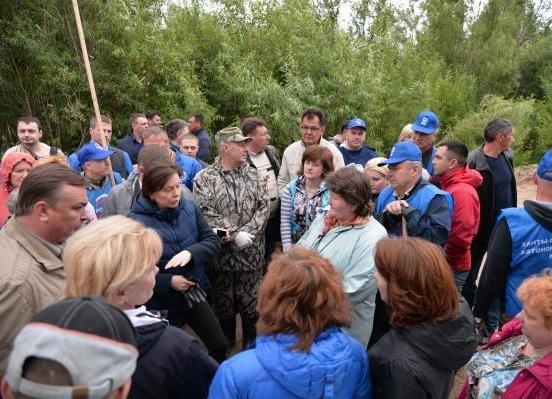 Наталья Комарова, Нижневартовск, паводок|Фото: правительство ХМАО