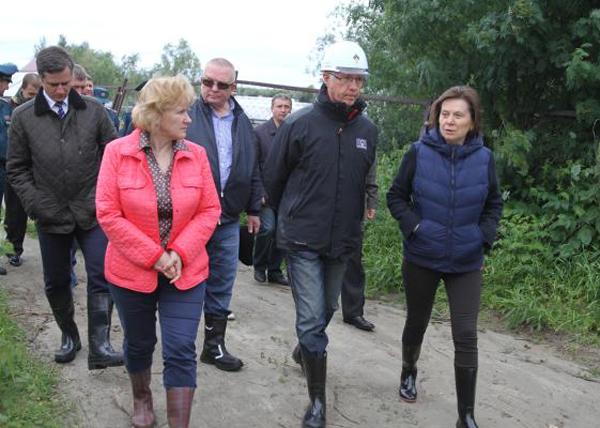Наталья Комарова, Нефтеюганск, разлив нефти|Фото: admhmao.ru