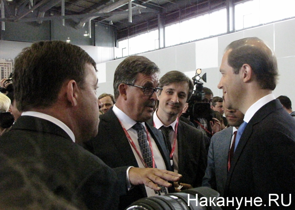 Денис Мантуров, Иннопром|Фото: Накануне.RU
