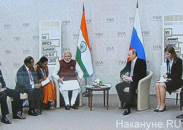 Уфа, БРИСК, BRICS, ШОС, Индия, Россия, Путин|Фото: Накануне.RU