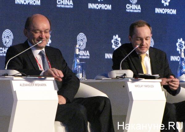 Александр Мишарин, руководитель пресс-центра ТАСС Николай Яколев|Фото: Накануне.RU