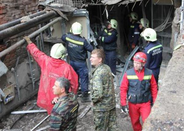 обрушение дома, Пермь|Фото: СУ СКРпоПермскомукраю