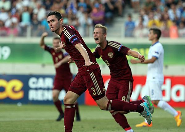 футбол, юношеская сборная России, Никита Чернов|Фото: AFP