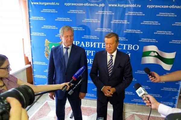 Алексей Кокорин Виктор Зубков|Фото: пресс-служба губернатора Курганской области