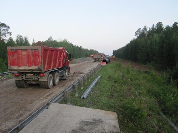 Тюмень - Ханты-Мансийск трасса размыв дорога|Фото: ГУ МЧС РФ по Тюменской области