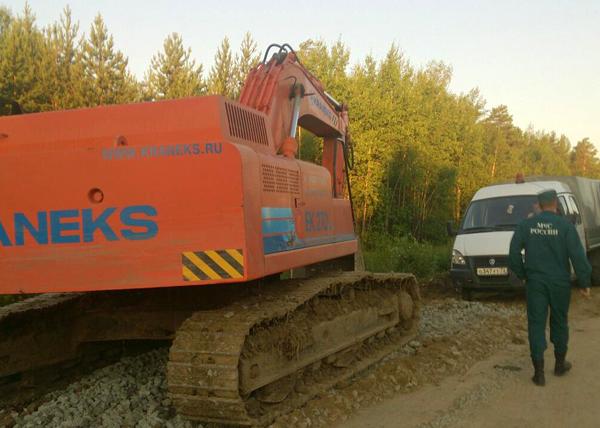 новый размыв, трасса Тюмень - Ханты-Мансийск|Фото: Пресс-служба ГУ МЧС Тюменской области