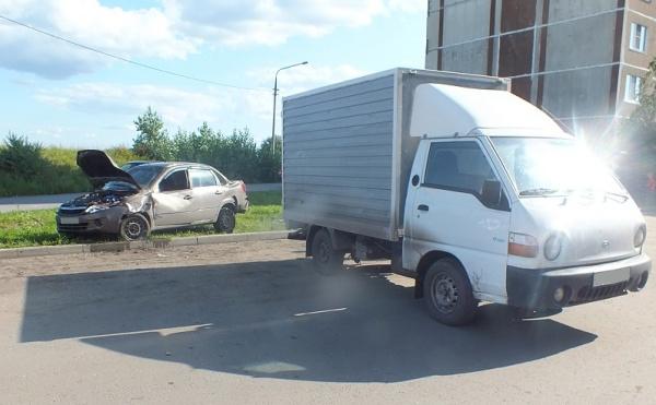 Курган фургон ДТП Лада|Фото: ГИБДД Курганской области