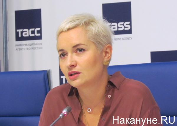 "пресс-конференция, фестиваль ""Усадьба Jazz"", Мария Семушкина|Фото: Накануне.RU"