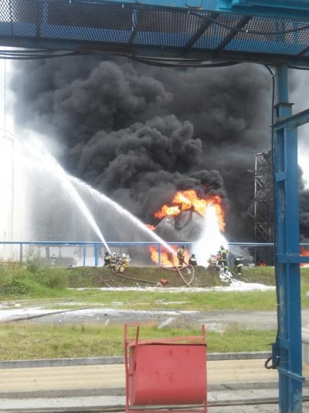 нефтебаза, пожар|Фото: ГУ МЧС России по СО