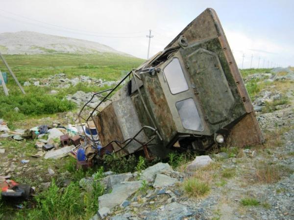 вездеход, ДТП с вездеходом|Фото: УМВД России по ХМАО-Югре