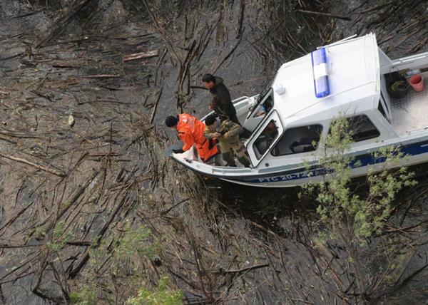Поиски МИ-8 в ХМАО|Фото: Пресс-служба ГУ МЧС Югры