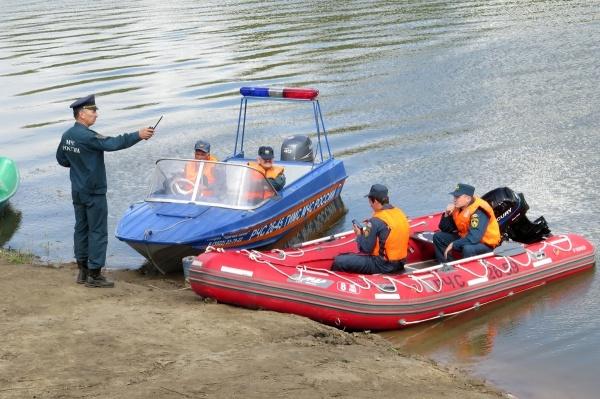 Курган река Тобол учения|Фото: пресс-служба губернатора Курганской области