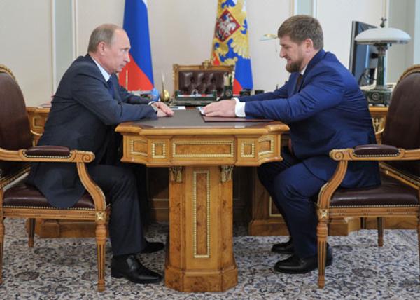 Владимир Путин, Рамзан Кадыров|Фото: chechnya.gov.ru