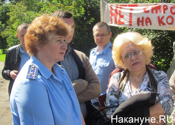 парк Блюхера, прокурор города Екатеинбурга Светлана Кузнецова|Фото: Накануне.RU