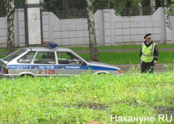 парк Блюхера, полиция|Фото: Накануне.RU
