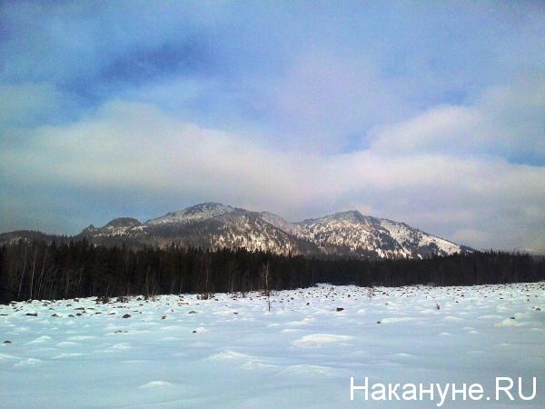 таганай, двуглавая сопка|Фото:накануне.ру