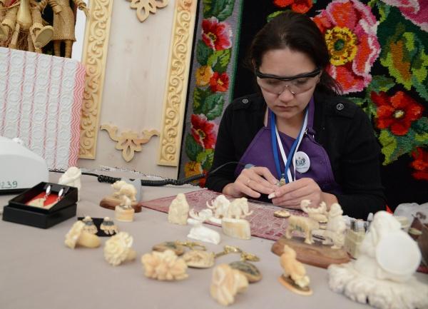 День КМНС, промысел, ремесла, рукоделие|Фото: пресс-служба губернатора хмао
