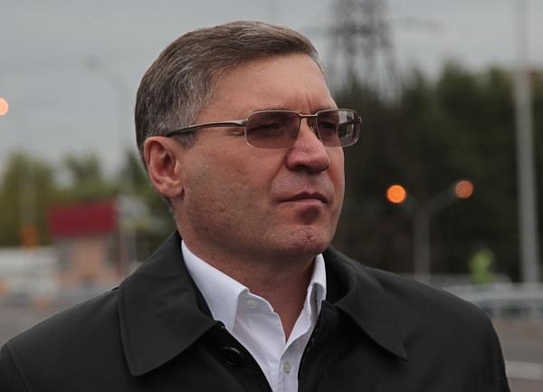развязка, Тюмень, 50 лет Октября - Республики, Владимир Якушев|Фото: губернатор Тюменской области