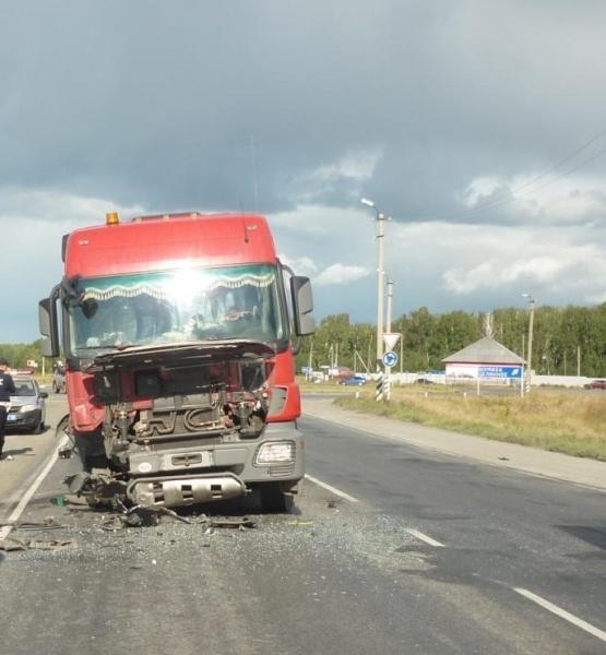 грузовик ДТП Зауралье|Фото: ГИБДД Курганской области