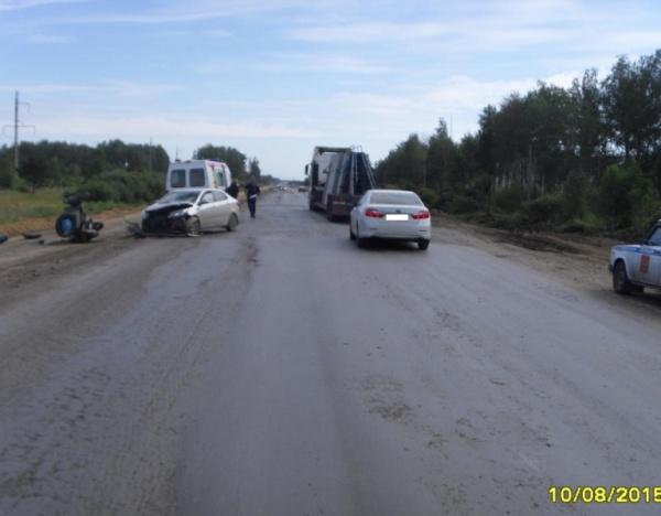 Юргамыш, ДТП, мотоцикл Фото: ГИБДД Курганской области