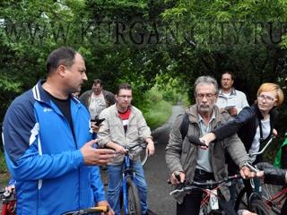 глава Кургана Сергей Руденко велосипед|Фото: администрация Кургана