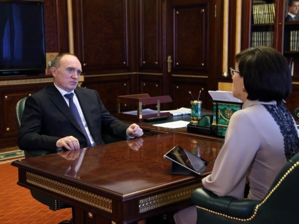Борис Дубровский Ольга Давиденко Фото: gubernator74.ru