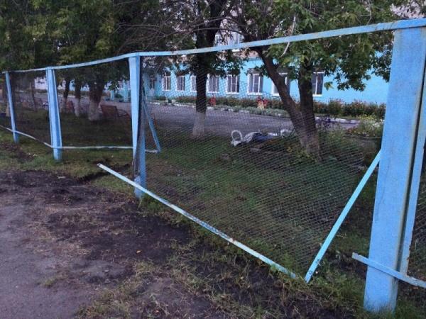Шадринск забор ДТП|Фото: ГИБДД Курганской области