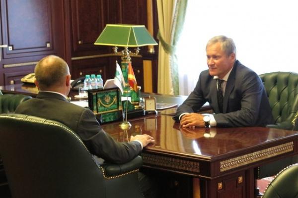 Борис Дубровский Алексей Кокорин|Фото: пресс-служба губернатора Курганской области