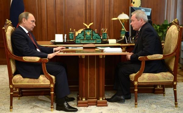 Владимир Путин, Виктор Басаргин|Фото:kremlin.ru