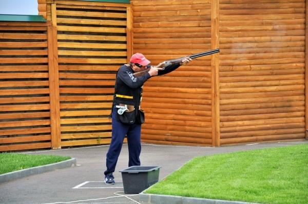 Алексей Кокорин стендовая стрельба|Фото: пресс-служба губернатора Курганской области