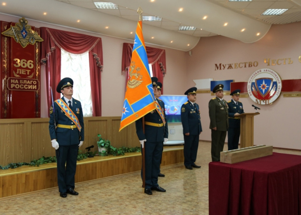 Знамя ГУ МЧС ЯНАО|Фото: пресс-служба ГУ МЧС Ямала