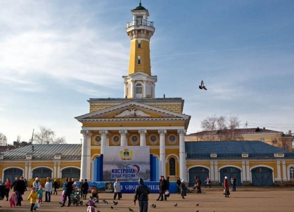Кострома, пожарная каланча, душа России|Фото: otvet.mail.ru