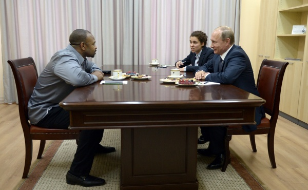 Владимир Путин, Рой Джонс|Фото:kremlin.ru