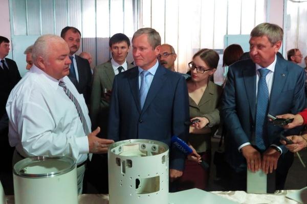 открытие ракетостроительного завода в Кургане Алексей Кокорин Фото: пресс-служба губернатора Курганской области