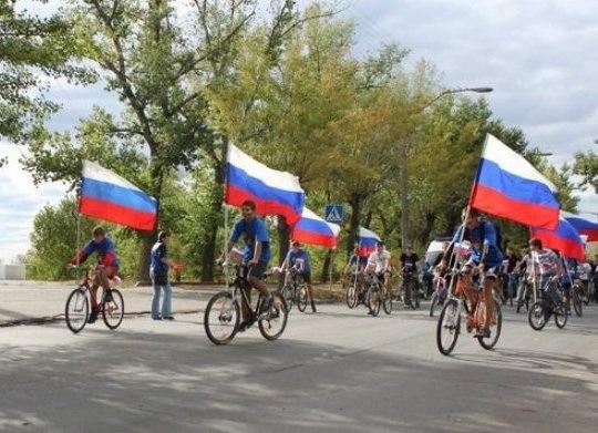 день российского флага, велопробег|Фото: администрация Ханты-Мансийска