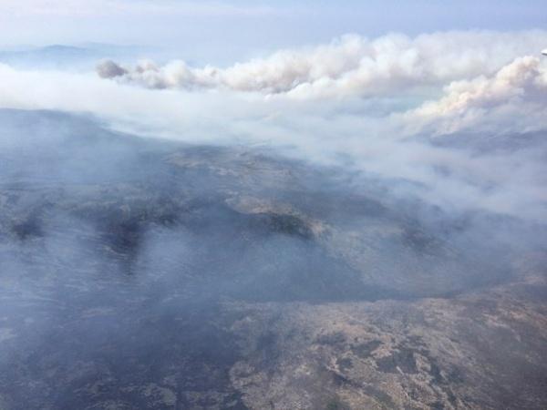 Байкал в огне, пожар на Байкале, лесные пожары, пожары с самолета|Фото: Антон Волков