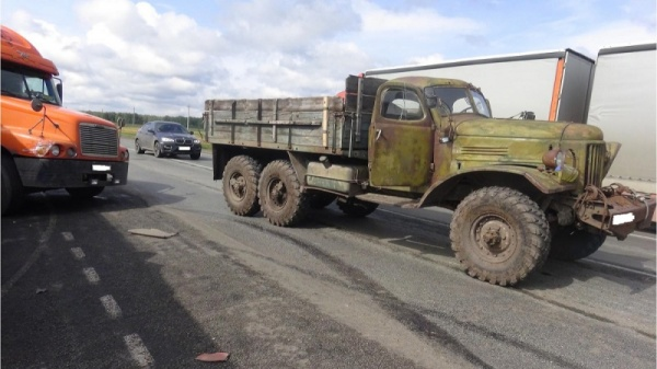 грузовики, ДТП, Зауралье Фото: ГИБДД Курганской области