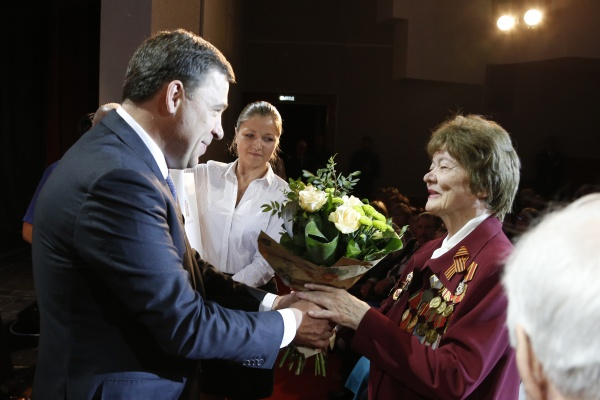 День пенсионера, Евгений Куйвашев|Фото: Департамент информационной политики губернатора