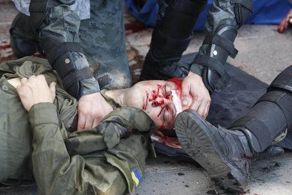 беспорядки, милиция, Верховная рада, Киев|Фото: AFP