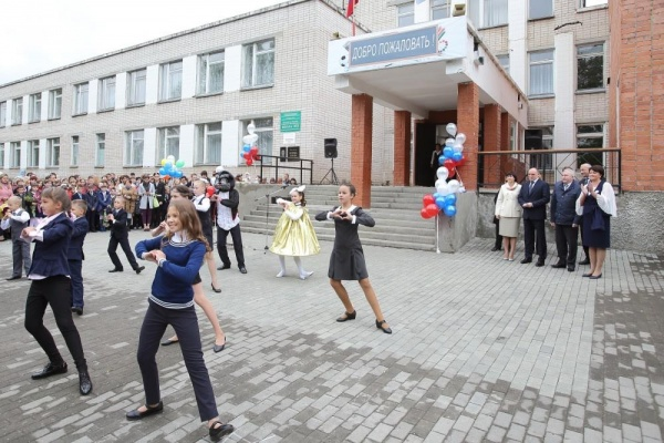 1 сентября, линейка, школа|Фото: пресс-служба губернатора