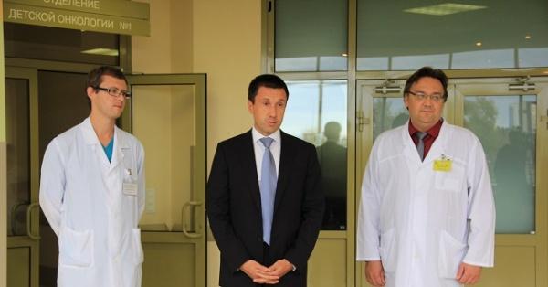 Алексей Пьянков, 1 сентября Фото: Департамент информационной политики губернатора