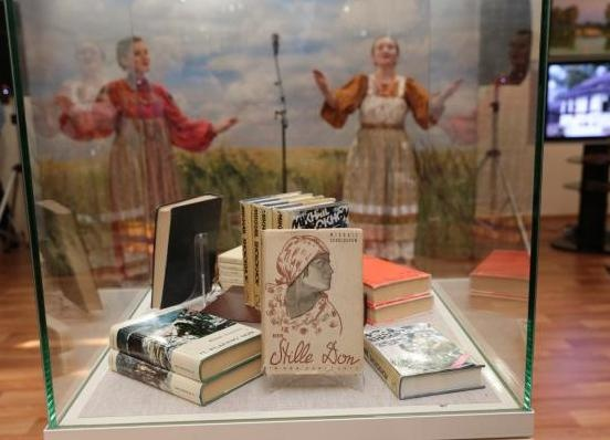 Шолохов, выставка в Ханты-Мансийске|Фото: правительство ХМАО