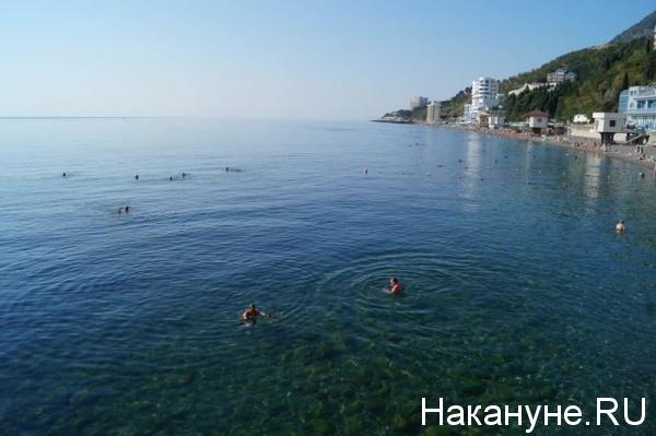 Алушта, Крым, отдых, отпуск, пляж, Черное море Фото: Накануне.RU
