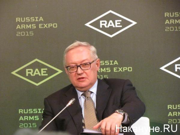 заместитель руководителя МИД Сергей Рябков|Фото: Накануне.RU