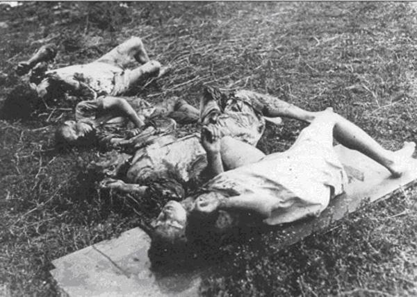 Пермь-36, одна из двух семей Клещинских в Подяркове замучена ОУН - УПА, 16 августа 1943 год|Фото: Накануне.RU
