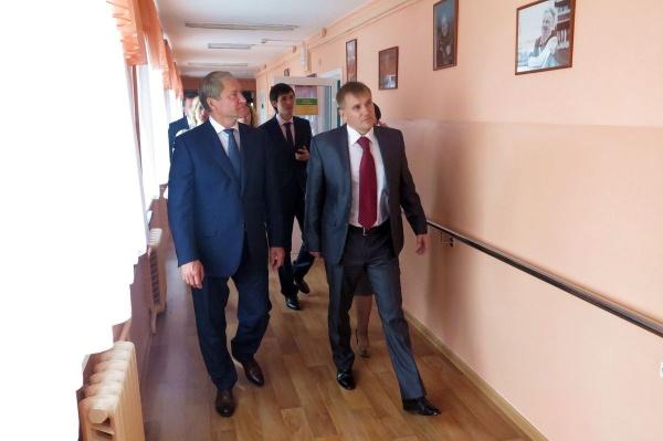 Кокорин соцобъекты посещение|Фото: пресс-служба губернатора Курганской области